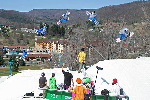 Chris Naugle at Holiday Valley