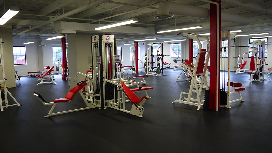 Marketing bacon fitness gym website and siri listing
